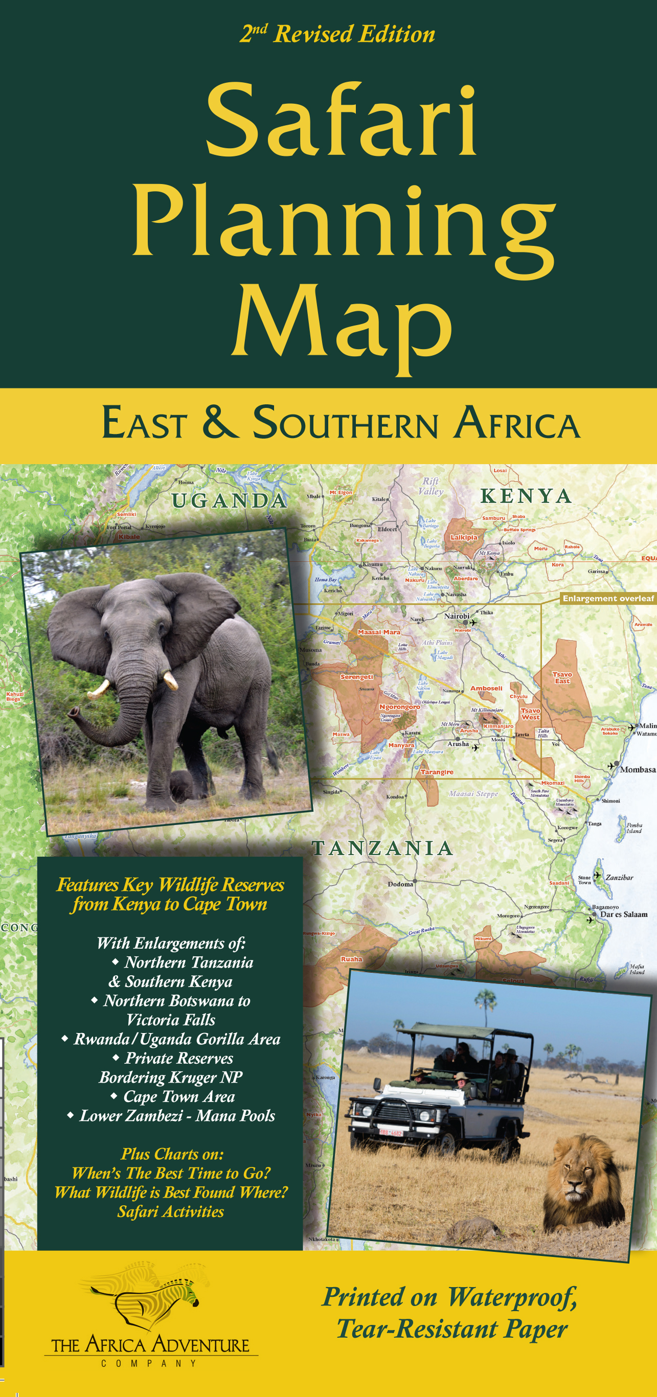 African Safari Books Field Guides and Maps – Map For Travel Planning